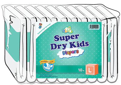 ABUniverse Super Dry Kids Diapers