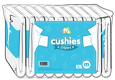ABUniverse Cushies Diapers