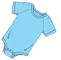 ABUniverse Active DiaperSuit BlueStripes