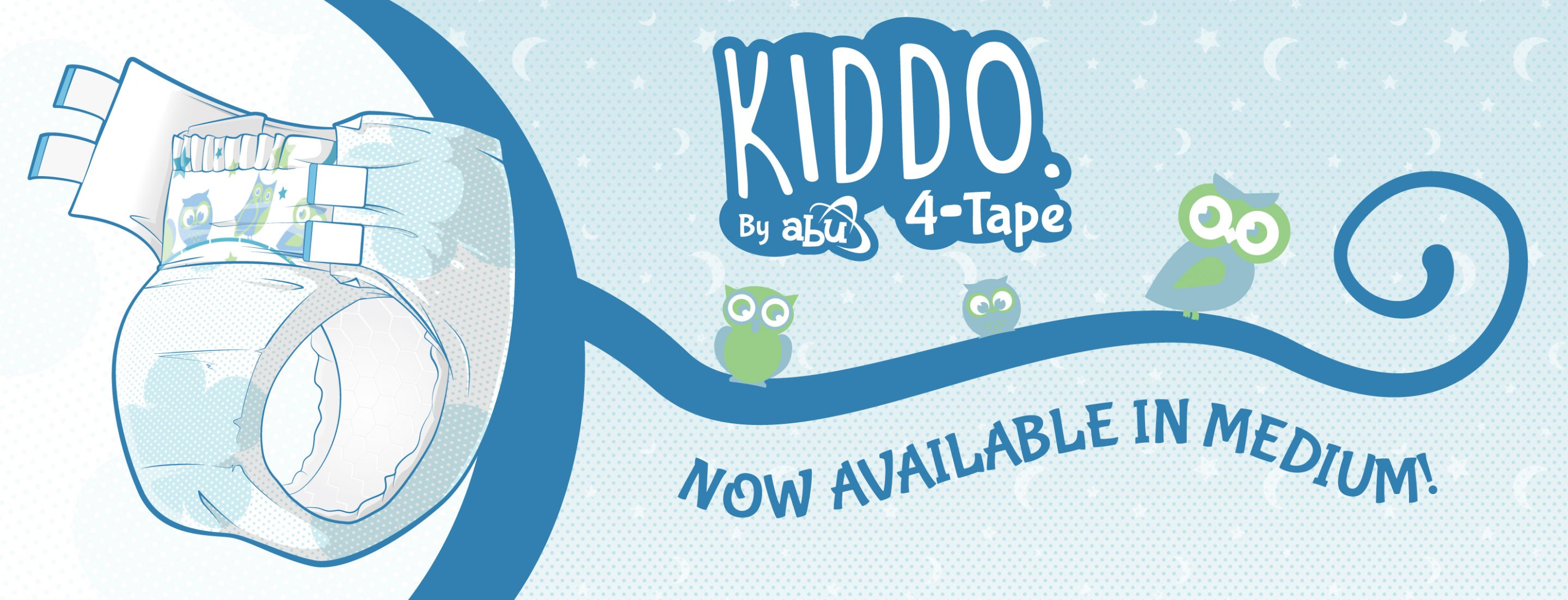 Kiddo By ABU 4-Tape Release